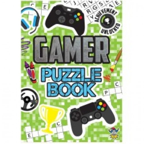 Activity Game Puzzle Book