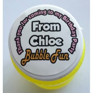 BUBBLES (Personalised)
