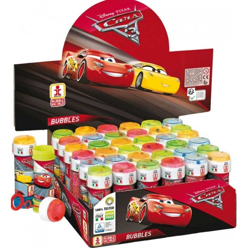 BUBBLE TUBS DISNEY CARS 3