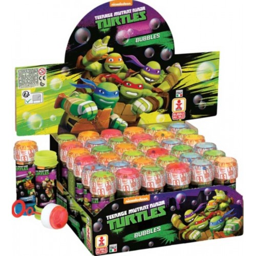 BUBBLE TUBS NINJA TURTLES