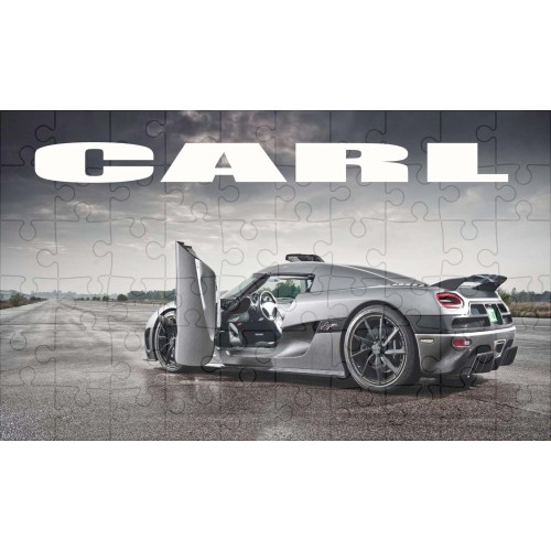Super Car - Ferrari Personalised Jigsaw