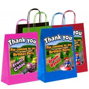Paper Tote Bag - (Mario)
