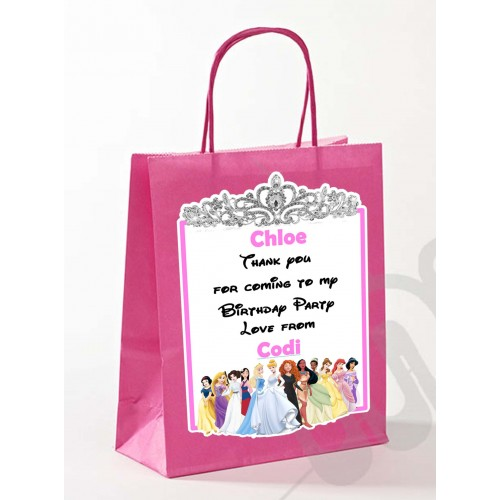 Paper Tote Bag - (Princess)
