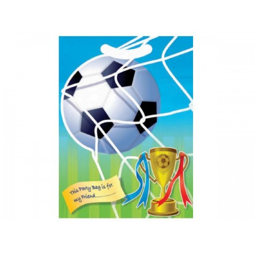 Plastic Favour Sweety \ Candy Bags (Football)
