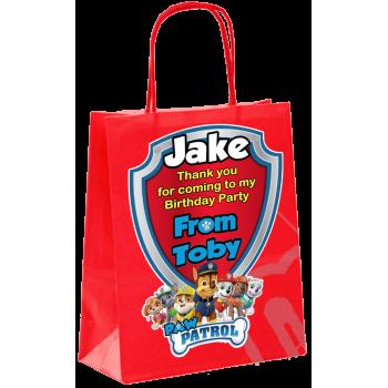 Paper Tote Bag - (Paw Patrol)