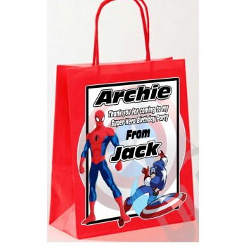 Paper Tote Bag - (Spider Man)