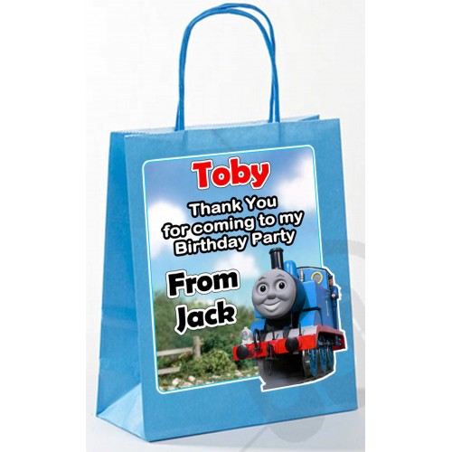 Paper Tote Bag -  (Thomas Tank Engine)