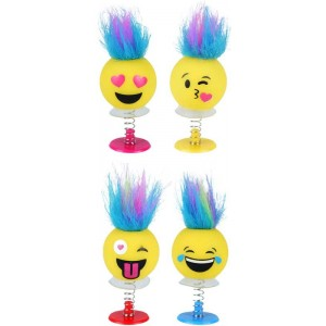 PP - Smiley Emoji with funky hair jump up's