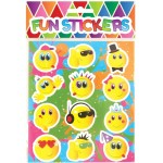 Emoji / Smiley Face Sweet / Candy Bag Seal Stickers