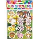 Farm Animals Sweet / Candy Bag Seal Stickers