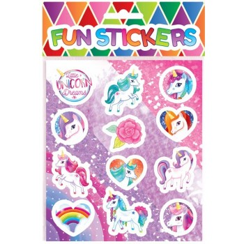 Unicorn Sweet / Candy Bag Seal Stickers