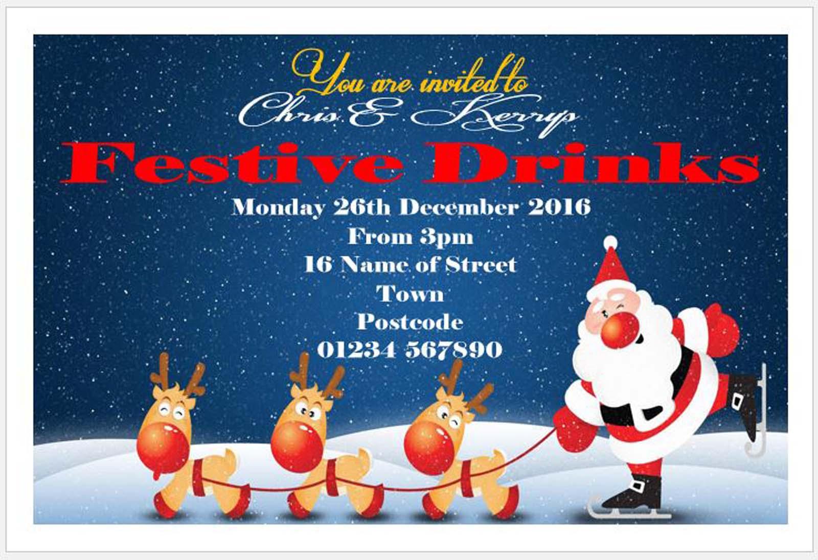 Christmas Invitations